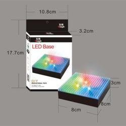 Mini-Building Diamond bloqueia a base com visor LED