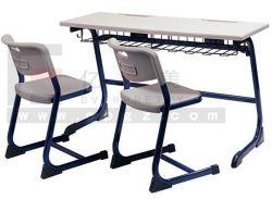 Mobiliário escolar do aluno Duplo mesa e cadeira primárias e mesa e cadeira escolar