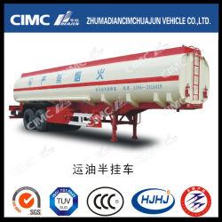 Cimc Huajun 40МУП углеродистой стали 2 топлива и масла в мосту/БЕНЗИН/Disel танкер