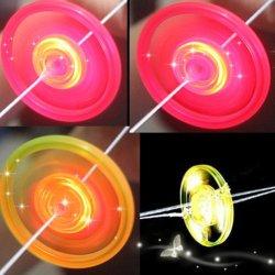 Дети потянуть ручной световой мигающий игрушка маховика