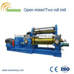 La machine en caoutchouc/Open Mélangeur/deux rouleaux en usine
