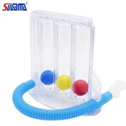 Factory Wholesale 3 palle Incentive Spirometro medico respiratore exerciser