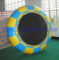 Water gonfiabile Tarampoline - Funny Toy Play in Pool