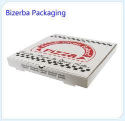 カスタマイズされた白いクラフト紙のPackaigngピザボックス