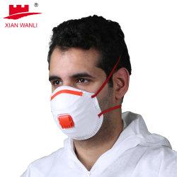 WL-2012 FFP2/FFP3 54 * 44 * 24 cm Carbon Filter nicht gewobene Kappe Form Atemschutzmaske Gesichtsmaske