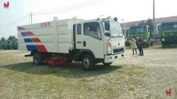 中国Sinotruk 4X2ハイウェイの洗剤の掃除人のトラック
