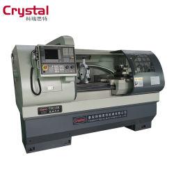 Horizontal automática y torno CNC ideograma6140b con contrapunto manual