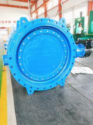 Industrial Marine DN300 rivestimento in EPDM rivestito in gomma CF8 flangia farfalla Valvola a Tianjin