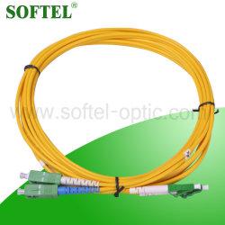 Der Sc-LC Kabel-Faser-optische Steckschnür Verbinder-Steckschnür-/3.0mm