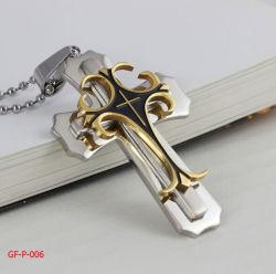 Form-Edelstahl-Kreuz-Anhänger