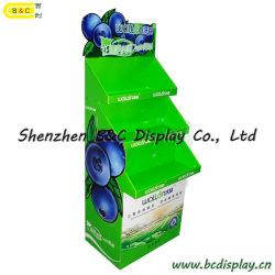 Fruta de cartón soporte de exhibición, la línea lateral Exhibición de los productos agrícolas y (B & C-A080)