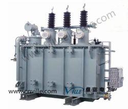 10mva 35kv Leistungstranformator mit auf Netzverteilungs-Transformator des Eingabe-Hahn-Wechsler-69kv 110kv 220kv für Kraftwerk