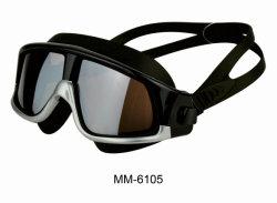 Estilo de moda ampla visão da máscara de natação óculos de natação