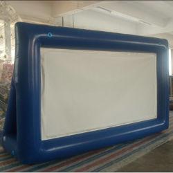 Projection arrière Air-Sealed Inflatable écran de cinéma pour la publicité