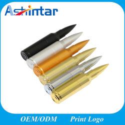 bullet USB 플래시 메모리 금속 USB 플래시 디스크 사용자 지정 USB 스틱