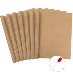 Amazon hot-коричневого цвета из PTFE лист для теплового нажмите машин