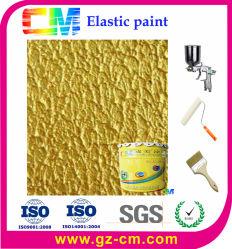 Base d'eau Texture de l'intérieur de la peinture élastique