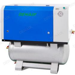 8 Bar 37kw Role Silent isento de óleo de um compressor de ar de parafuso/
