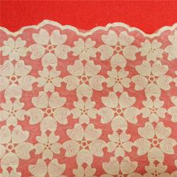 Van het Katoenen van de manier de Witte Stof Kant van de Decoratie (L5135)