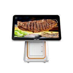 Sistema terminale di posizione di sostegno della barra del ristorante dell'hotel del calcolatore di posizione dello schermo di tocco