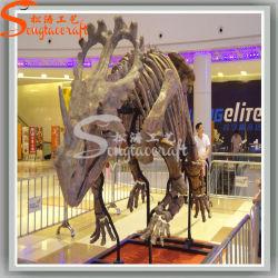 Modelo de tamaño original de exposiciones del museo de dinosaurios Artificial
