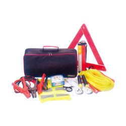 Triángulo reflectante de seguridad de advertencia de la herramienta de emergencia Kit Car
