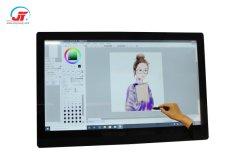 El sistema operativo Windows de 21,5 pulgadas tableta de dibujo de escritura táctil electromagnética con la presión alta sensibilidad para aplicables a Diseño y dibujo dibujo