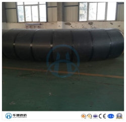En 253 recto estándar Preinsulated tubo térmico del tubo de aislamiento de fibra de vidrio el adaptador de tubería para agua fría