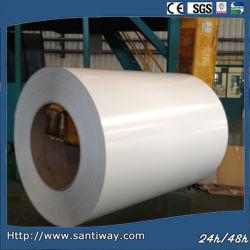 Enduit de couleur en métal galvanisé prélaqué Steel Sheet bobine