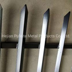Revestimiento de polvo de alta seguridad y la barra de ángulo de acero galvanizado valla metálica