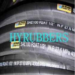 Fil d'acier à haute pression hydraulique du flexible en caoutchouc1SN, 2SN, 4sp