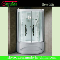 Esquina prefabricados Cristal ducha de vapor el cuarto de baño (Tl-8845)