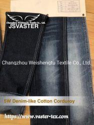 5W du velours de coton