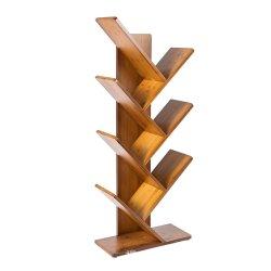 Настраиваемый логотип бамбук деревянный интерьер офиса принадлежности в ванной комнате цветы подставка для дисплея