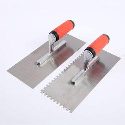 Manchas planas de acero inoxidable llana, la construcción de la plaza de la herramienta de paleta dentada T-12