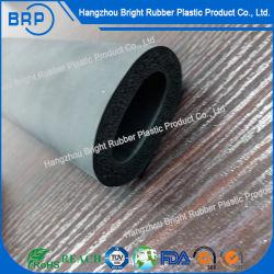 Большой размер серого силиконового каучука губкой трубки