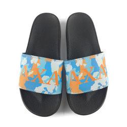 Nuovi sandali di comodità di stile di Greatshoe, pistone nero personalizzato esterno del cursore del commercio all'ingrosso