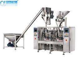 Automatische Suiker/de Zuivere Spaander van /Potato van het Water/Machine van de Verpakking/van de Verpakking/van het Pakket van het Pak van het Hoofdkussen van het Volume van de Zak van het Voedsel/van het Brood de Grote Verticale (pm-420)