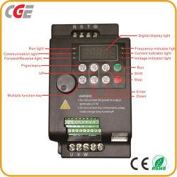 Regolatore del motore dell'invertitore del regolatore dell'invertitore AC230V/380V di frequenza di controllo di vettore di rendimento elevato della Cina dell'invertitore di frequenza del regolatore del distributore VFD