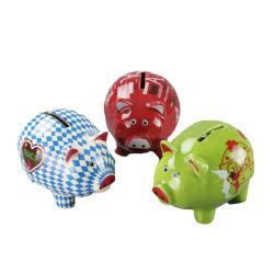 Reizende Farben-Schwein-Geld-Münzen-Bank für Kind-Geschenke