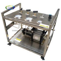 Terek 브랜드 고품질 16-800 바 출력 싱글 액션 에어 실린더 테스트를 위한 구동 가스 부스터 스테이션