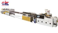 Уф-покрытием пластиковых ПВХ лист плата выдавливание машины производственной линии