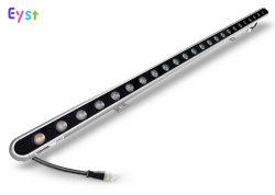 プロフェッショナル屋外照明 LED ライトバー IP66 24W DMX512 コントロール RGB LED ウォールワッシャー