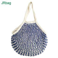 Novo design Cores Duplo String algodão reutilizáveis Misto sacos de malha