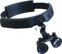 Laboratorio dental M350 3.5X Sombreros Lupa lupa binocular en negro