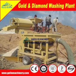 Добыча полезных ископаемых машина для обработки Gold Diamond Тин Циркон Chrome колтана