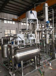 Evaporatore con pellicola discendente per l'etanolo di Cbd