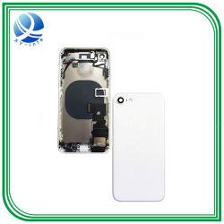 Téléphone mobile dos plein de logements pour iPhone 7 7 Plus Réparation du couvercle de batterie de la porte arrière du châssis avec câble souple de cas