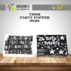 T8502 parte Popper Navidad, Regalos y artesanías para juguetes de la felicidad y Año Nuevo de Bodas y celebraciones familiares 1.4G Juguetes Fireworks