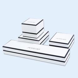 Empfindlicher weißer Schönheits-Schmucksache-Papier Papcking Kasten-&Printing Service